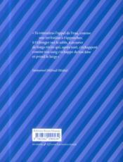 Voix vives de Méditerranée... en Méditerranée ; anthologie sète 2013 - 4ème de couverture - Format classique