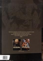 Khaal - chroniques d'un empereur galactique t.2 - 4ème de couverture - Format classique