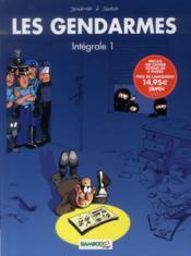Les gendarmes ; INTEGRALE VOL.1 ; T.1 ET T.2 - Couverture - Format classique