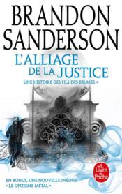 Fils-des-Brumes T.4 ; l'alliage de la justice - Couverture - Format classique