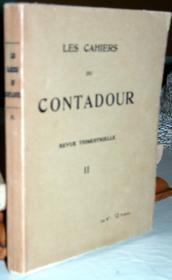 Les Cahiers du Contadour II. - Couverture - Format classique
