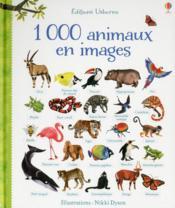 1000 animaux en images - Couverture - Format classique