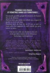 Le talisman des territoires ; intégrale - 4ème de couverture - Format classique