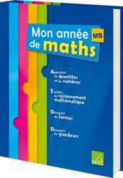 Mon année de maths ; mallette complète ; MS - Couverture - Format classique
