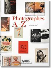 Photographes a-z - Couverture - Format classique