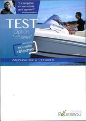CODE ROUSSEAU ; test option côtière (édition 2015) - Couverture - Format classique