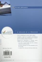 CODE ROUSSEAU ; test option côtière (édition 2015) - 4ème de couverture - Format classique