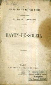 Rayon De Soleil / Les Drames Du Nouveau Monde - 2e Serie. - Couverture - Format classique