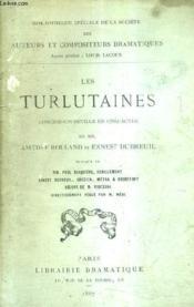 Les Turlutaines - Comedie Vaudeville En Cinq Actes. - Couverture - Format classique