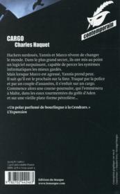 Cargo - 4ème de couverture - Format classique