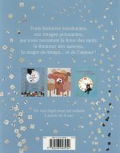 Le petit voleur de mots et autres histoires de Nathalie Minne - 4ème de couverture - Format classique