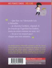 Les agents secrets de l'Olympe T.5 ; Héraclès au royaume des ombres - 4ème de couverture - Format classique