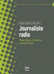 Le journaliste radio - Couverture - Format classique