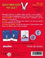 Supramegagigatop jeu - 4ème de couverture - Format classique