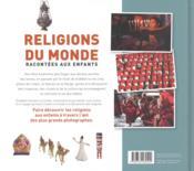 Religions du monde racontées aux enfants - 4ème de couverture - Format classique
