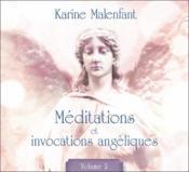 Méditations et invocations angéliques t.2 - Couverture - Format classique