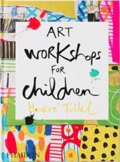 Art workshops for children - Couverture - Format classique