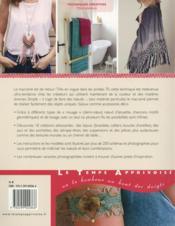 Passion macramé ; mode, déco, accessoires - 4ème de couverture - Format classique