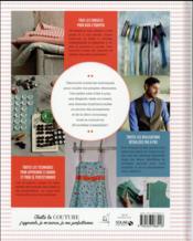Toute la couture - 4ème de couverture - Format classique