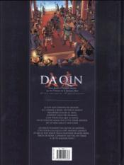 Da Qin t.1 ; l'âge de fer - 4ème de couverture - Format classique