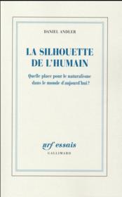 La silhouette de l'humain - Couverture - Format classique