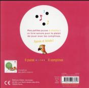 Comptines des animaux rigolos - 4ème de couverture - Format classique