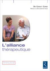 L'alliance thérapeutique - Couverture - Format classique