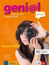 Geni@l klick ; allemand ; A1.2 ; kursbuch - Couverture - Format classique
