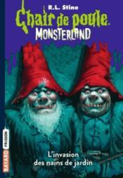Monsterland T.1 ; l'invasion des nains de jardin - Couverture - Format classique