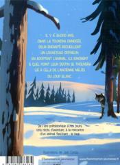 Grand loup blanc et autres récits - 4ème de couverture - Format classique