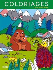 Coloriages à la montagne - Couverture - Format classique