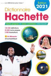 Dictionnaire Hachette (édition 2021) - Couverture - Format classique