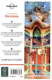 Barcelone (6e édition) - 4ème de couverture - Format classique