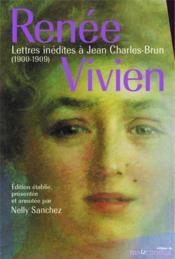 Lettres inédites à Jean Charles-Brun (1900-1909) - Couverture - Format classique