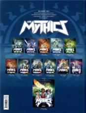 Les Mythics T.11 ; luxure - 4ème de couverture - Format classique