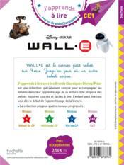 Wall-e - 4ème de couverture - Format classique