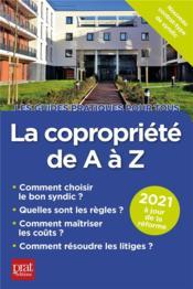 La copropriété de A à Z (édition 2021) - Couverture - Format classique