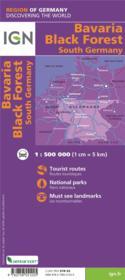 Bavière, Forêt Noire, Allemagne sud - Couverture - Format classique