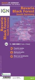 Bavière, Forêt Noire, Allemagne sud - 4ème de couverture - Format classique