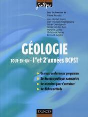 Géologie ; BCPST 1ère et 2ème année ; tout-en-un - Couverture - Format classique