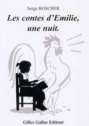 Les contes d'Emilie, une nuit - Intérieur - Format classique
