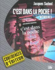 C'est dans la poche ! mémoires - Intérieur - Format classique