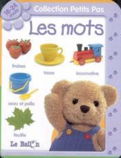 Les mots 18-24 mois (édition 2006) - Couverture - Format classique