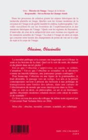 Obscène, obscénités - Couverture - Format classique