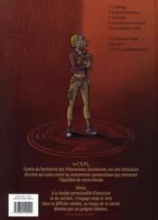 Les démons d'Alexia T.5 ; le sang de l'ange - 4ème de couverture - Format classique