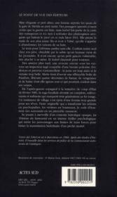 La tristesse du samouraï - 4ème de couverture - Format classique
