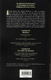 Randy Welcome - Couverture - Format classique