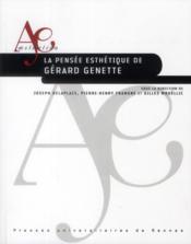 La pensée esthétique de Gérard Genette - Couverture - Format classique