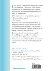 La théorie du CFS (2e édition) - 4ème de couverture - Format classique