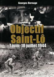 Objectif saint lo - Couverture - Format classique